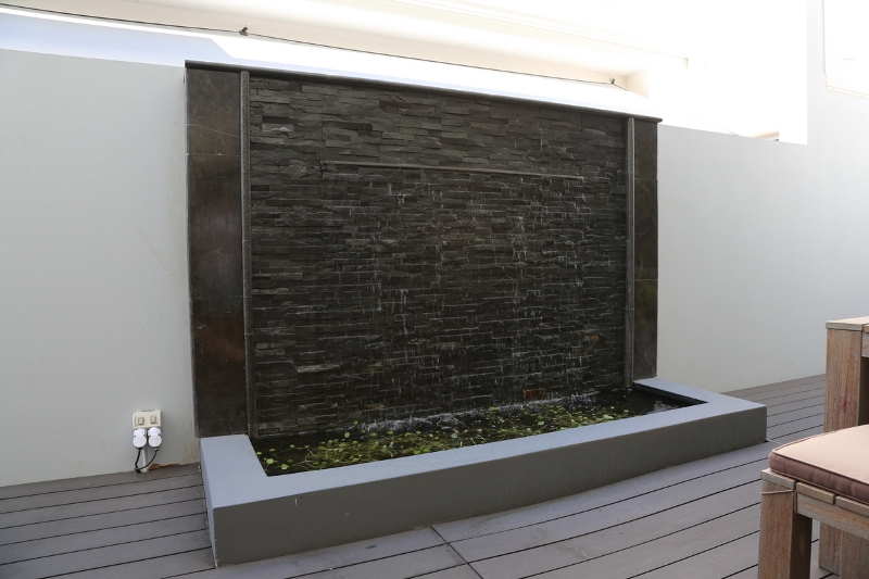 Charcoal Grey water feature
