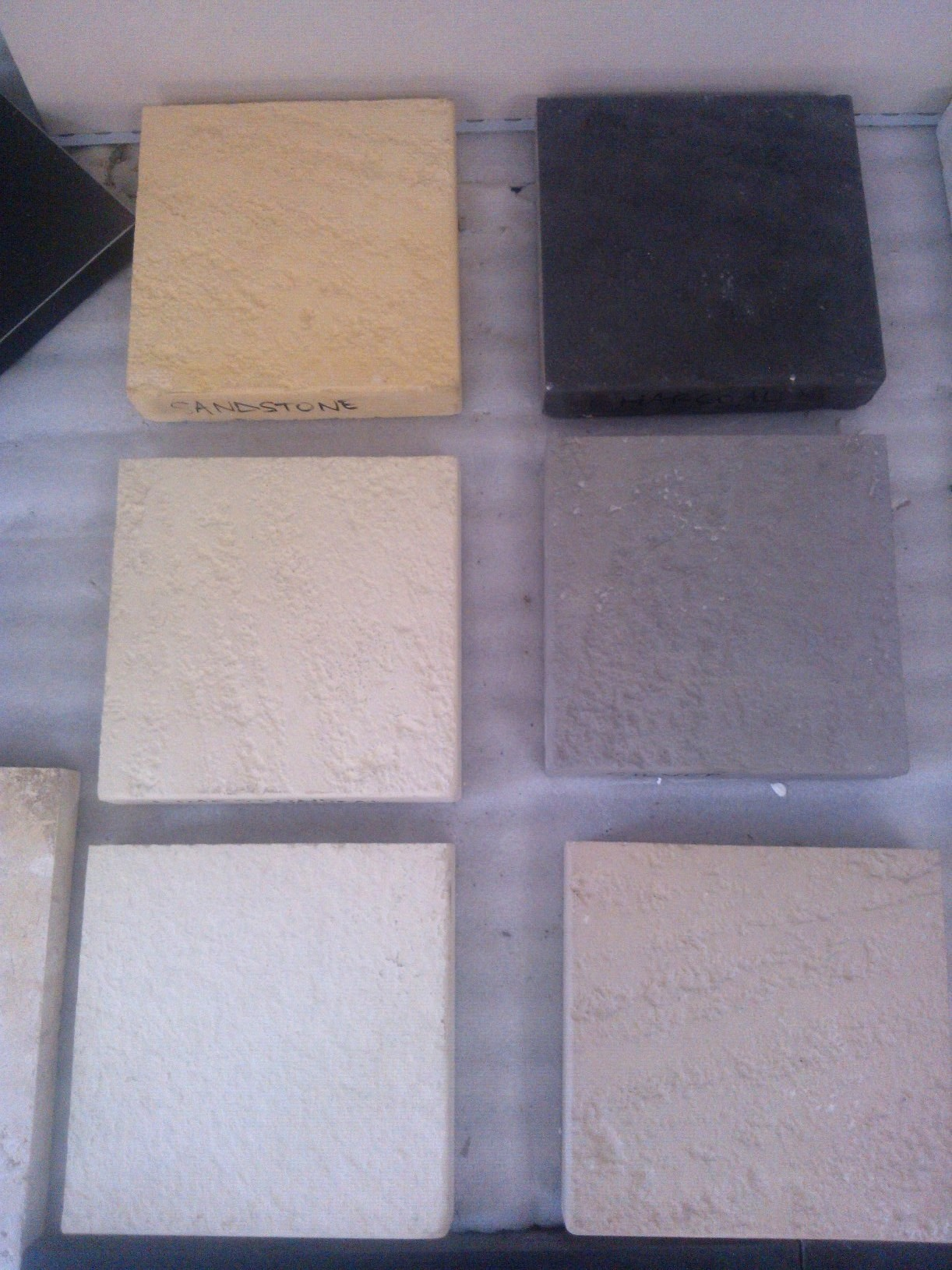 Reconstituted  limestone pavers