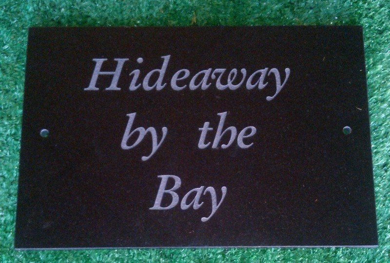 House sign plaque