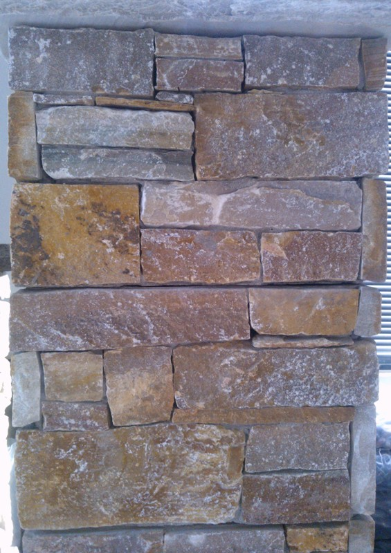 Brown Oak Stone Cladding