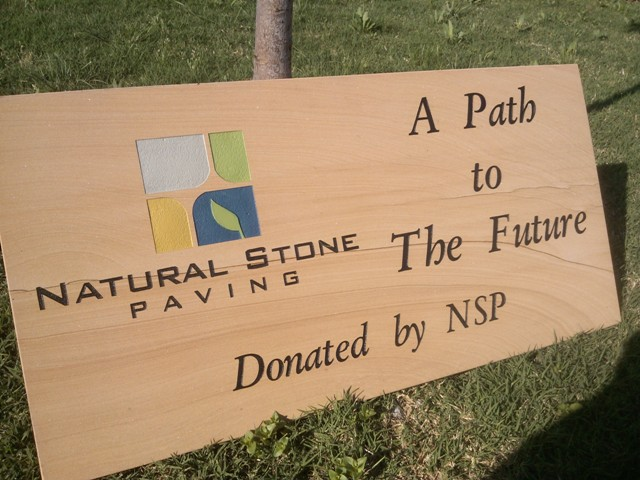 Engraved LOGO NSP