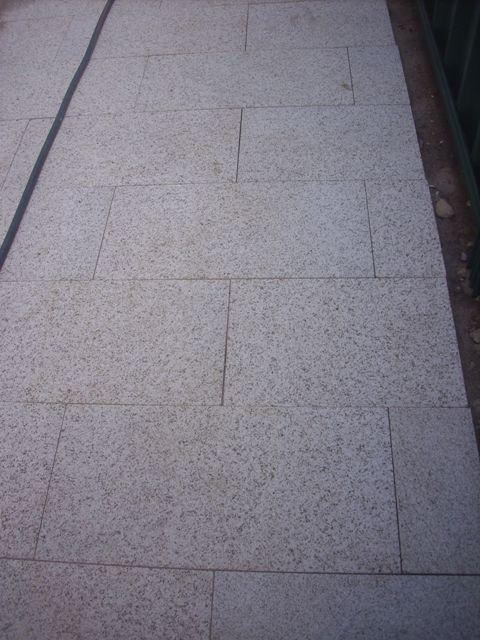 Creamy Colour granite pavers 3