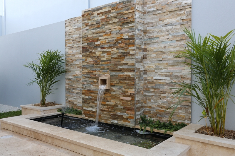 Moon River water feature